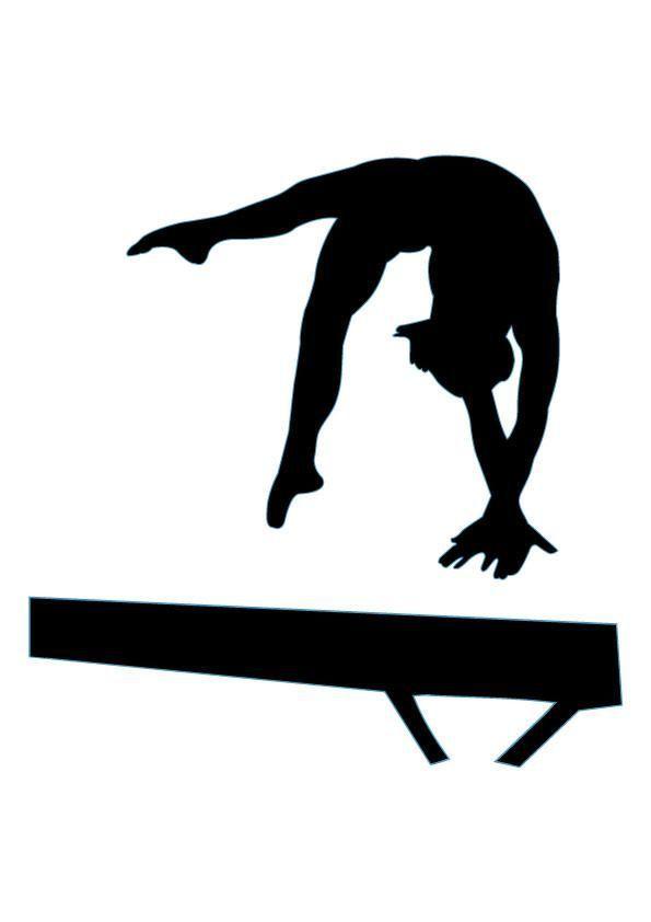 Gymnist clipart clip art transparent stock Free Gymnastics Clipart Pictures - Clipartix | Gymnastics shirts ... clip art transparent stock