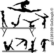 Free gymnastics clipart images svg free download Gymnastics Clip Art - Royalty Free - GoGraph svg free download