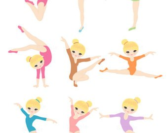 Free gymnastics clipart images clip art black and white download Free gymnastics clipart kids 4 » Clipart Portal clip art black and white download