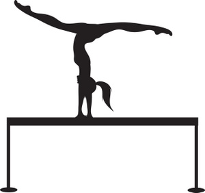 Free gymnastics clipart images clipart transparent library Gymnast Clipart | Free download best Gymnast Clipart on ClipArtMag.com clipart transparent library
