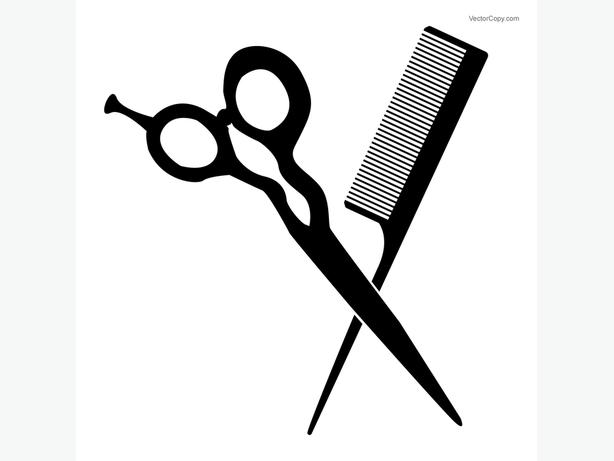 Free haircut clipart picture black and white stock FREE: Haircuts and Colour at Servilles! Auckland, www - MOBILE picture black and white stock