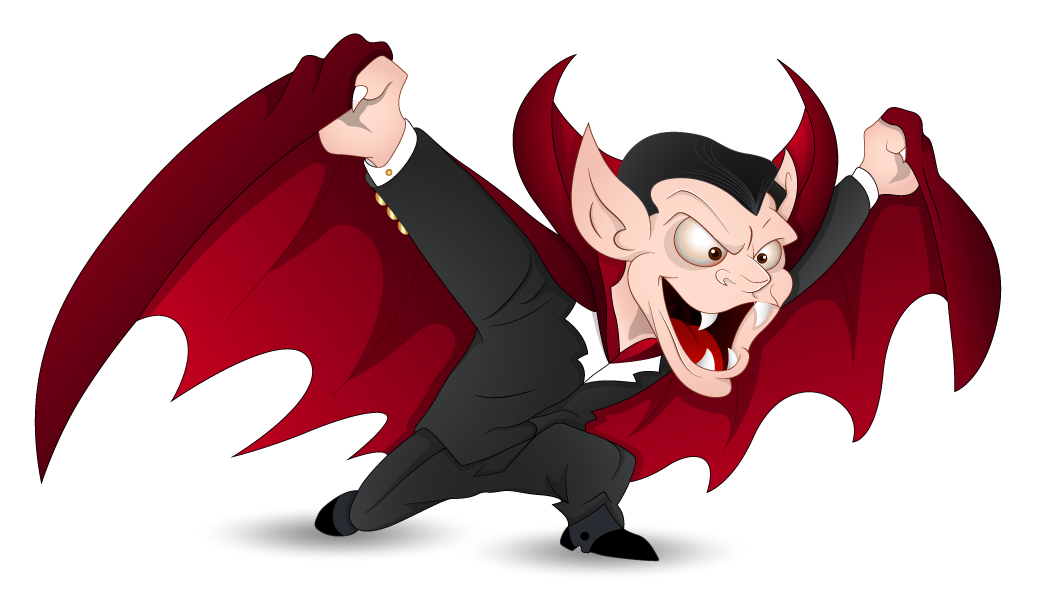Free halloween animated clipart banner transparent library Red Halloween Vampire PNG Clipart | Gallery Yopriceville - High ... banner transparent library