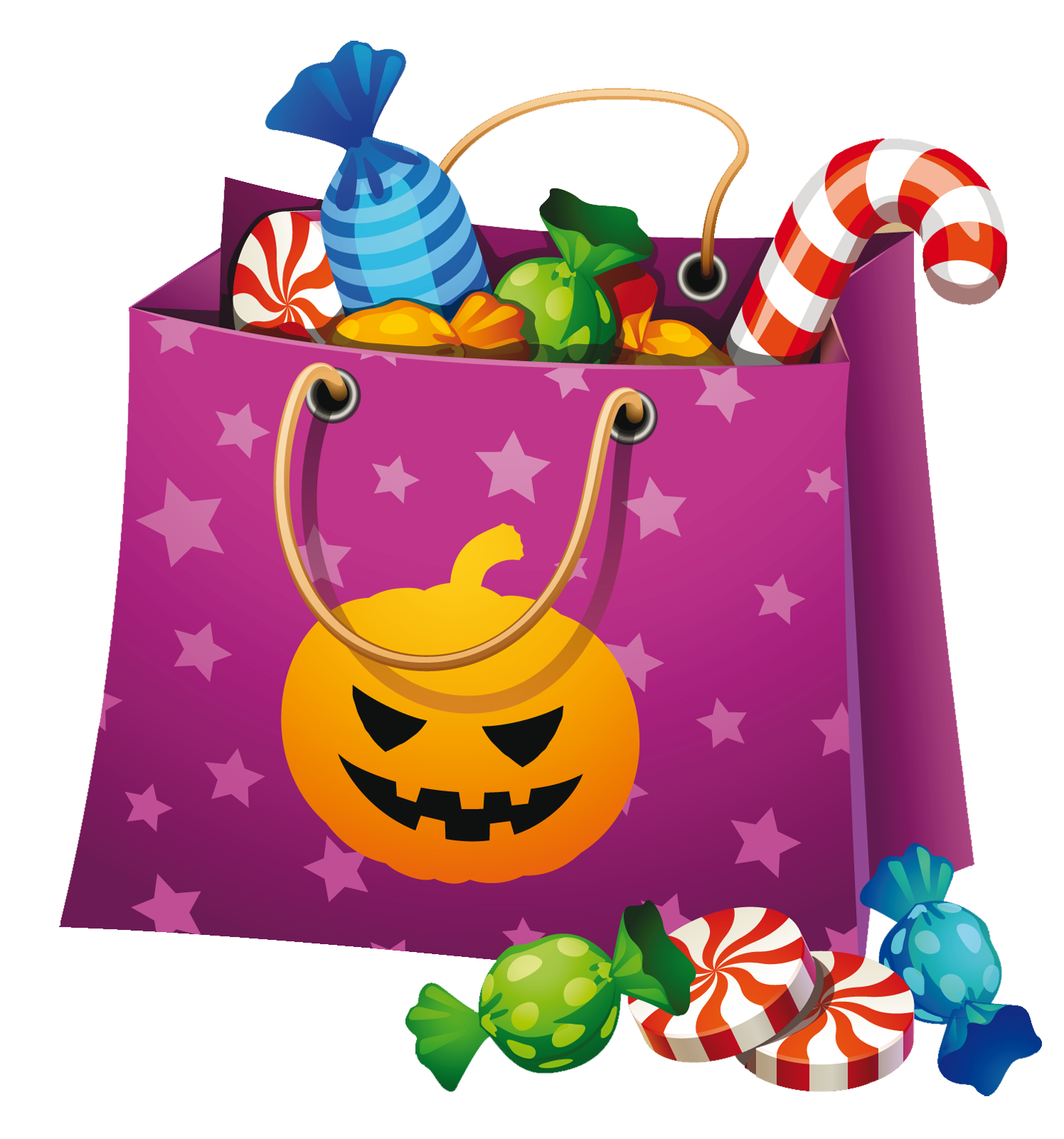 Free halloween candy clipart image library Free happy halloween pumpkin,spider,candy,cat clipart images for ... image library