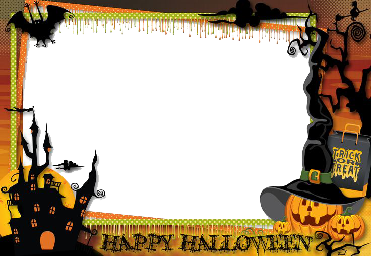Free halloween clipart border picture royalty free stock 28+ Collection of Halloween Clipart Border Images | High quality ... picture royalty free stock
