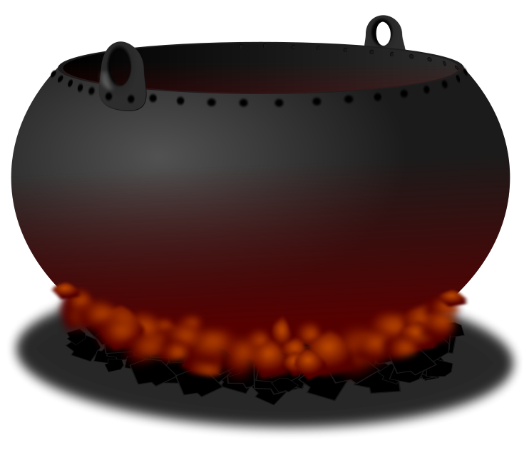 Halloween Witch Cauldron Clipart | Gallery Yopriceville - High ... graphic transparent download