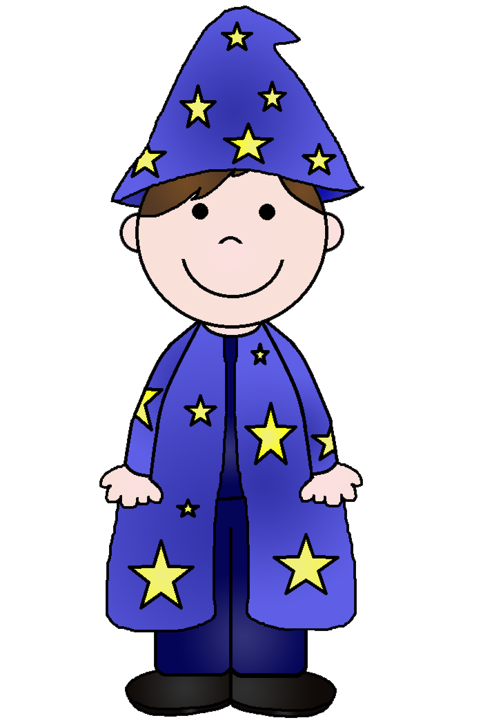 Free halloween costume clipart picture transparent Young Wizard Clipart picture transparent