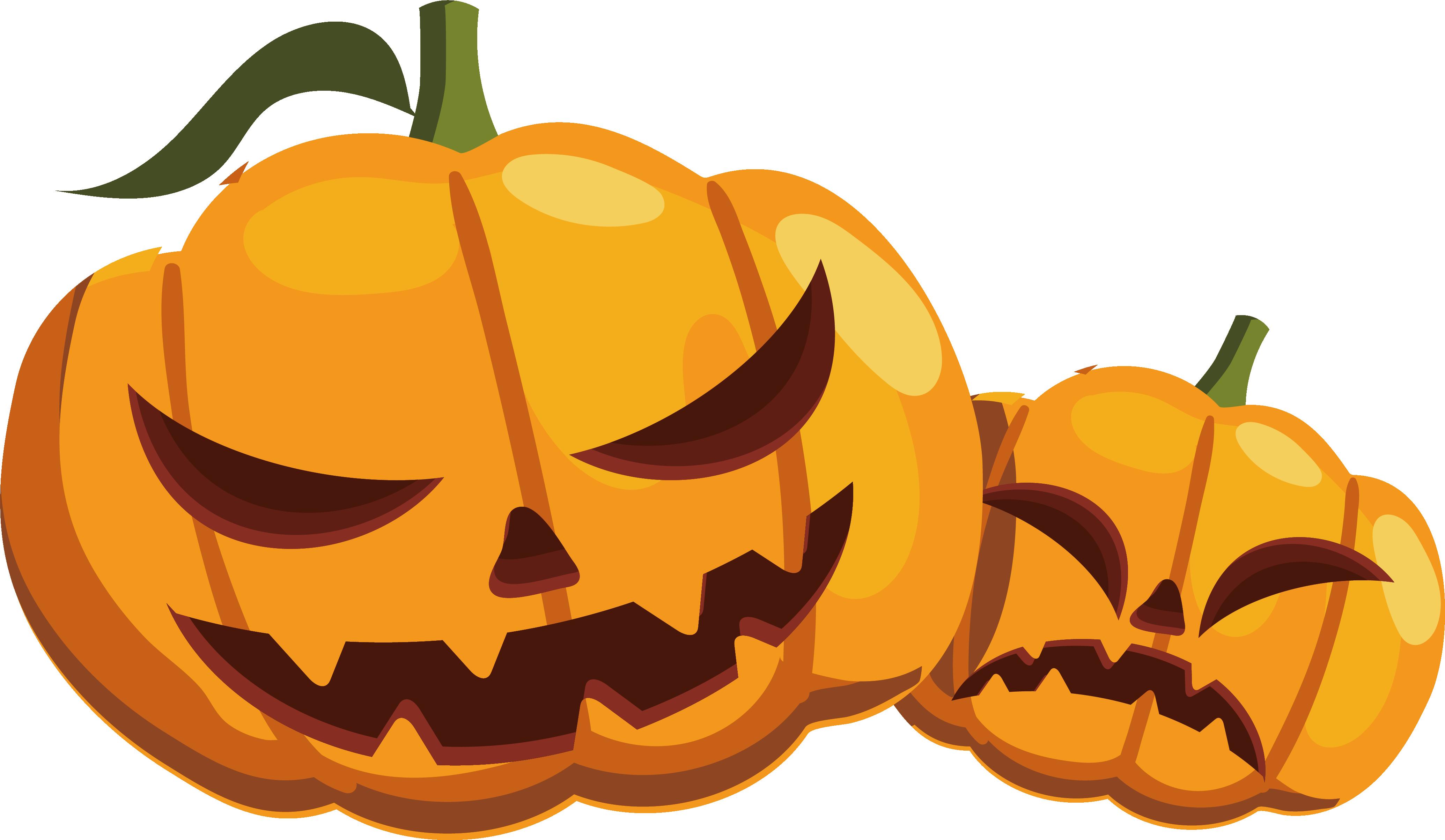 Free halloween dog pumpkin clipart graphic transparent download Calabaza Pumpkin Halloween - Halloween Pumpkin monster 4139*2407 ... graphic transparent download