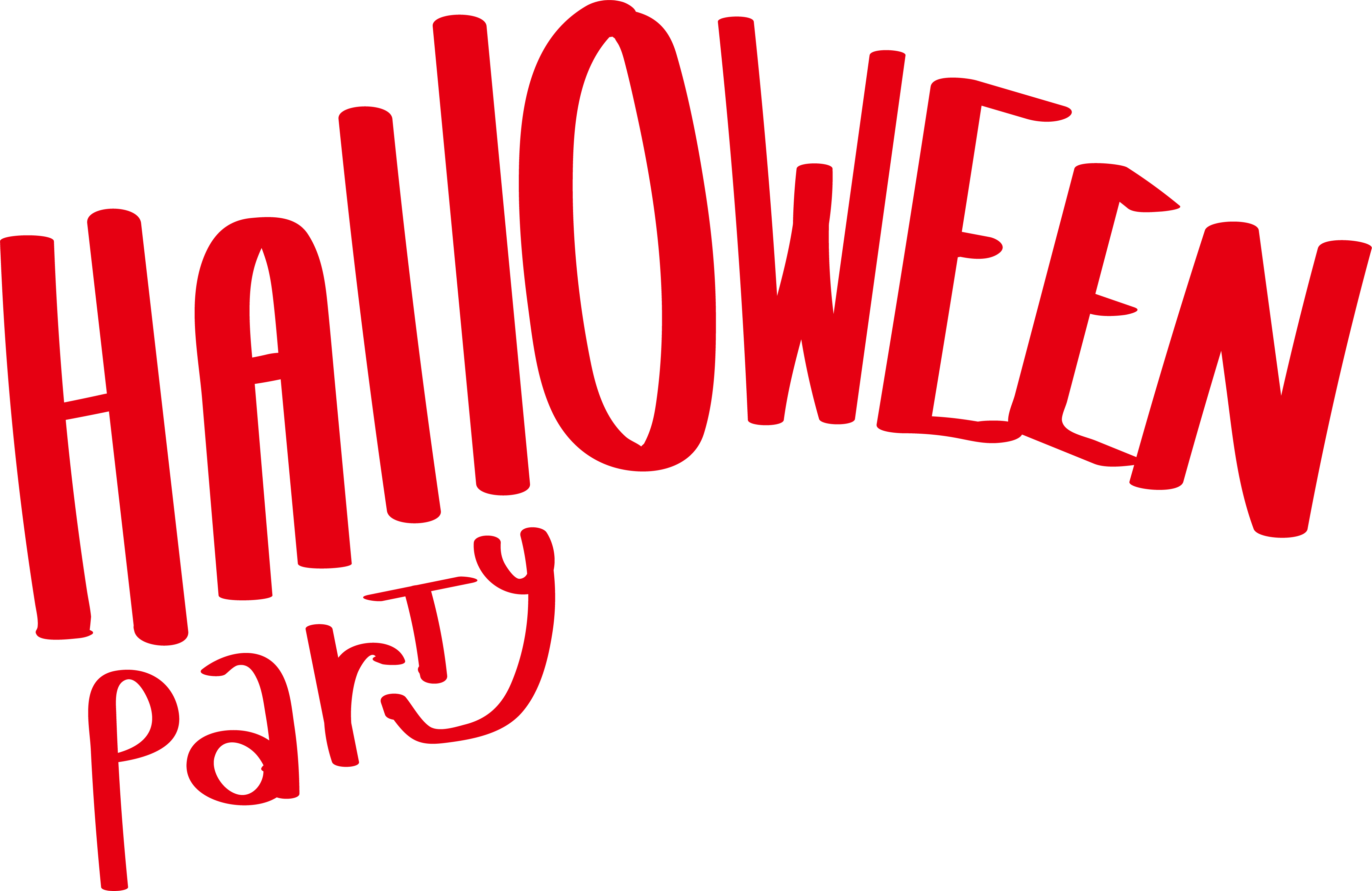 Microsoft clipart halloween image library download Halloween Microsoft Word Clip art - Red Halloween party art words ... image library download