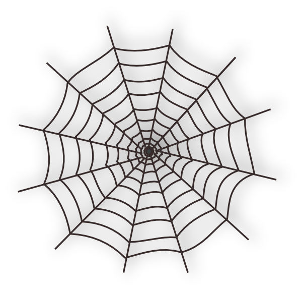 Halloween clipart spider web picture library library Spider web clip art spiderweb danaspdg top - Clipartix picture library library