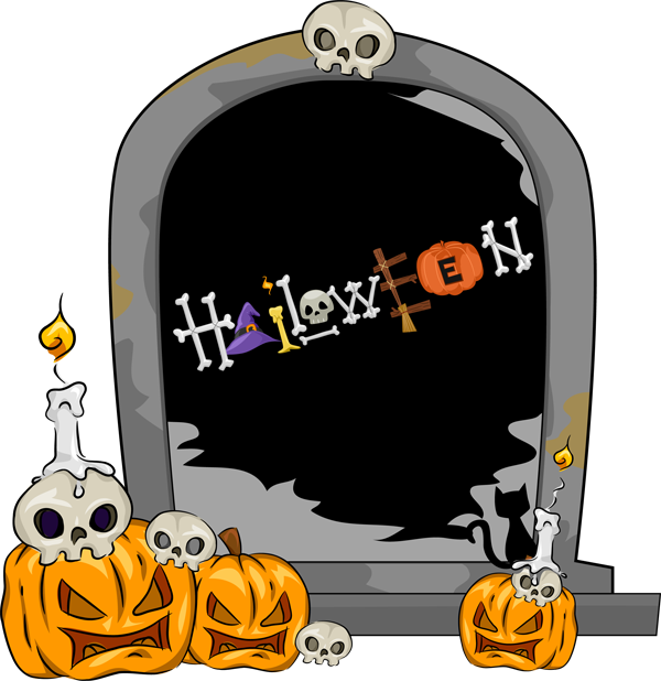 Halloween clipart free printable clipart transparent 28+ Collection of Halloween Gravestones Clipart | High quality, free ... clipart transparent