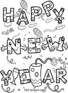 Free happy 2016 black & white clipart vector royalty free 26 Best 69 Happy New Year Images Photos Pictures images in 2018 ... vector royalty free