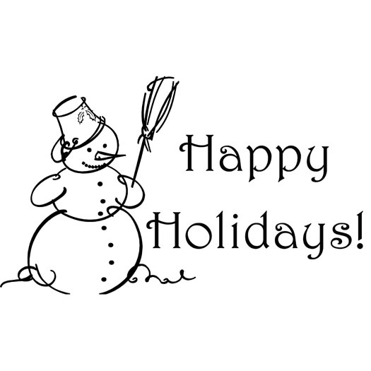Happy holidays clipart black and white jpg black and white library Free happy holidays clipart the cliparts 8 2 - ClipartBarn jpg black and white library