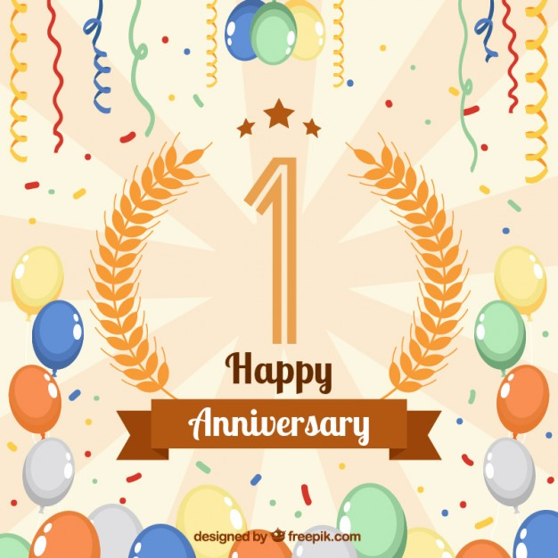 Free happy anniversary background clipart jpg stock Happy anniversary background Vector | Free Download jpg stock