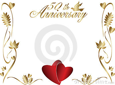 Free happy anniversary background clipart jpg black and white stock Related Keywords & Suggestions for Golden Wedding Anniversary ... jpg black and white stock