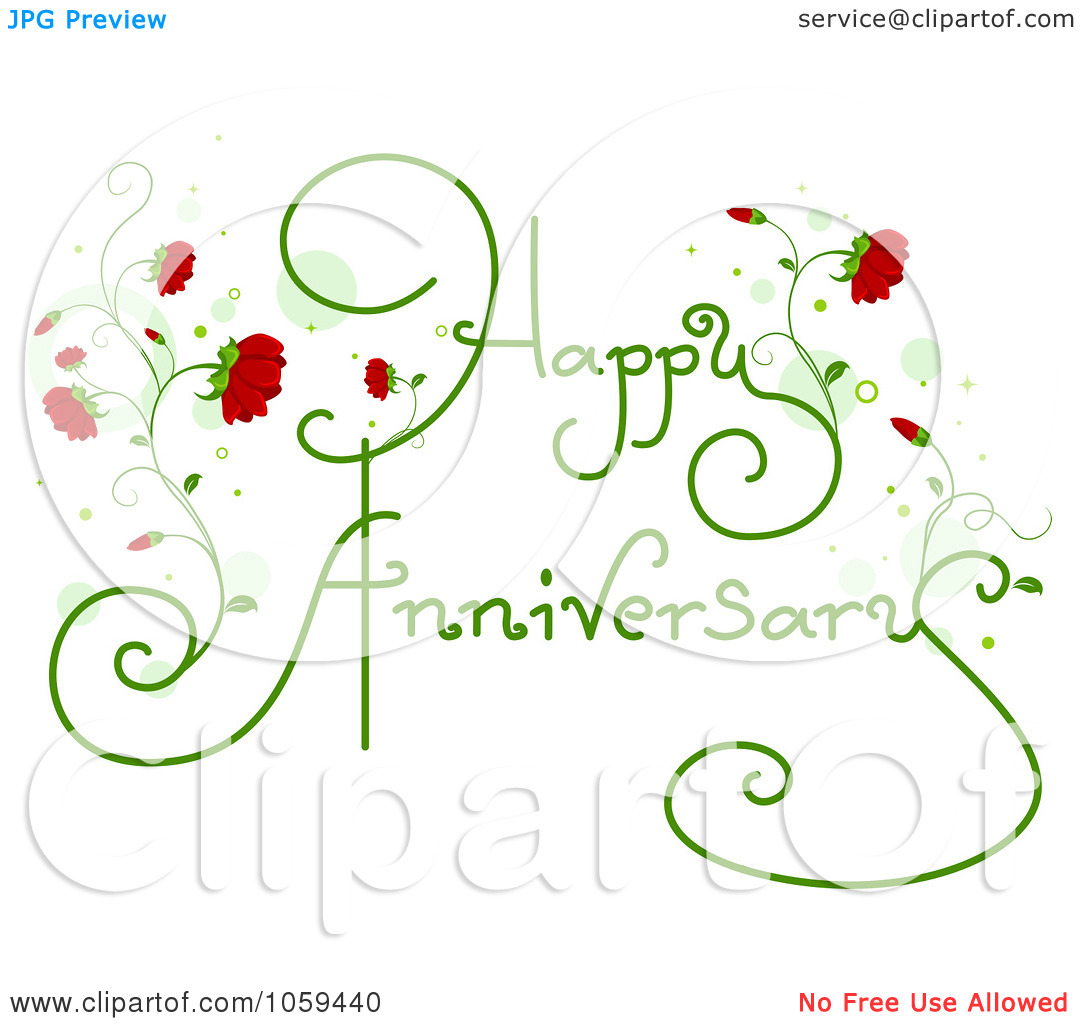 Free happy anniversary background clipart svg library Royalty-Free Vector Clip Art Illustration of Happy Anniversary ... svg library