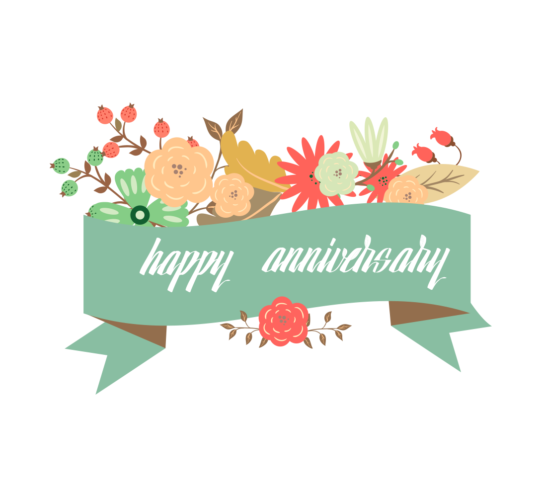 Happy anniversary clip art free jpg transparent Wedding anniversary Greeting card - Happy Anniversary 1089*1000 ... jpg transparent