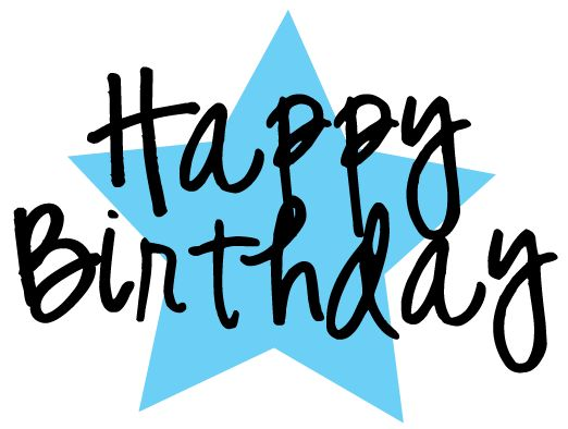 Free happy birthday clipart for facebook vector library download Free Happy Birthday Clipart and graphics to for invitations ... vector library download