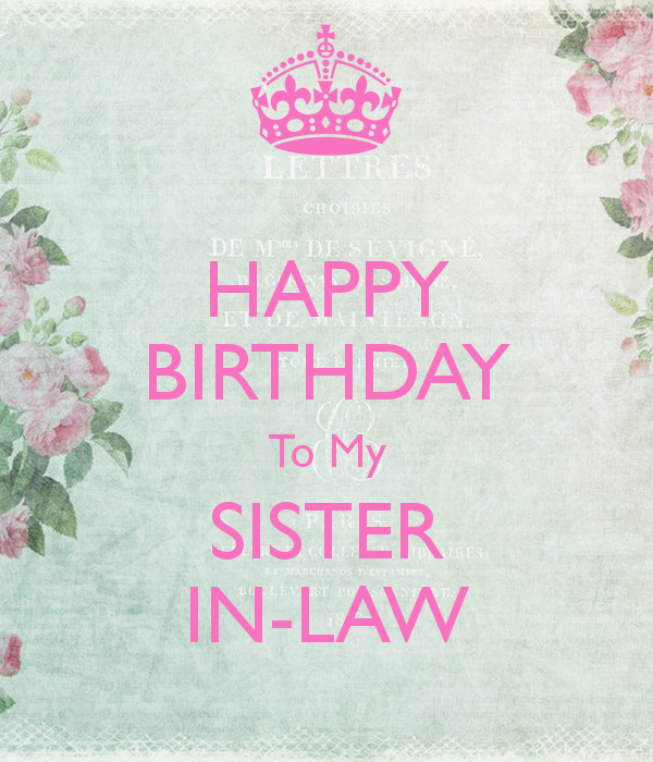 Free happy birthday sister in law clipart banner royalty free library Happy Birthday Sister In Law — Lovely Meme banner royalty free library