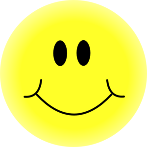 Smiling face clipart