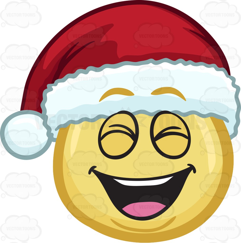 Free happy face with santa hat clipart graphic royalty free download Laughing Cliparts | Free download best Laughing Cliparts on ... graphic royalty free download