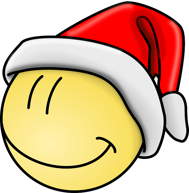 Free happy face with santa hat clipart transparent stock red, happy, faces, face, hat, smiley, christmas, funny | ENRICHMENT ... transparent stock