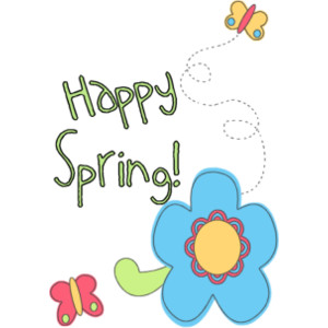 Free happy spring clipart banner black and white download Free Happy Spring Cliparts, Download Free Clip Art, Free Clip Art on ... banner black and white download