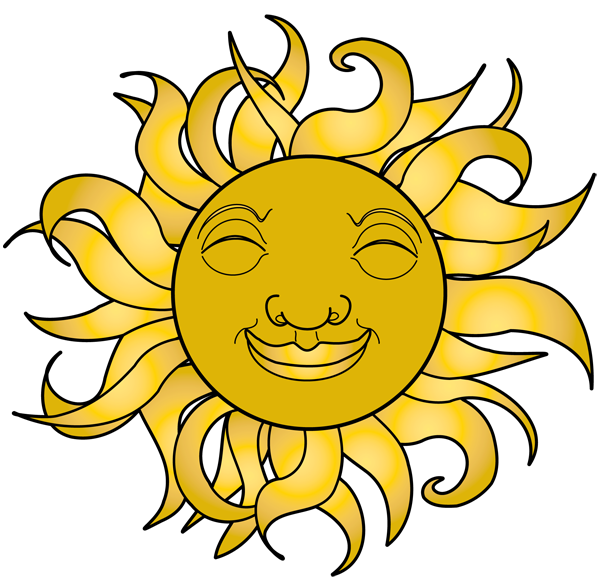 Happy sun clipart powerpoint png transparent library Happy Sun Clipart | Clipart Panda - Free Clipart Images png transparent library