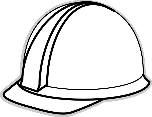 Hardhat clipart jpg stock Hard Hat Template for Teacher | White Hard Hat 2 clip art - vector ... jpg stock