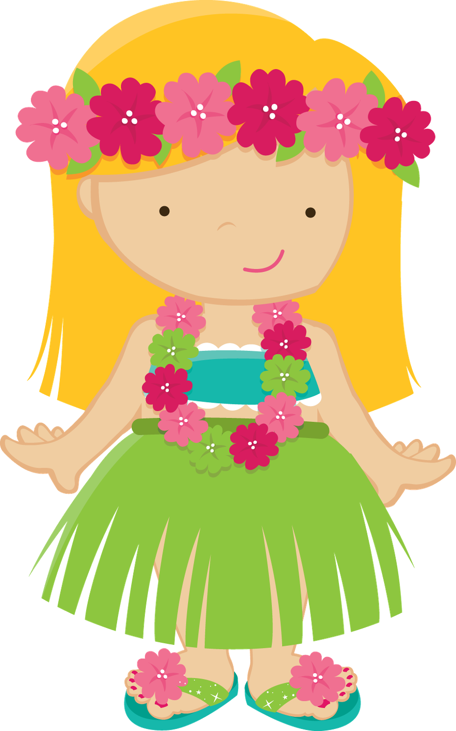 Free hawaiian thanksgiving clipart picture freeuse library ZWD_Hula_Girl_02.png | clipart | Pinterest | Clip art, Hawaiian and ... picture freeuse library