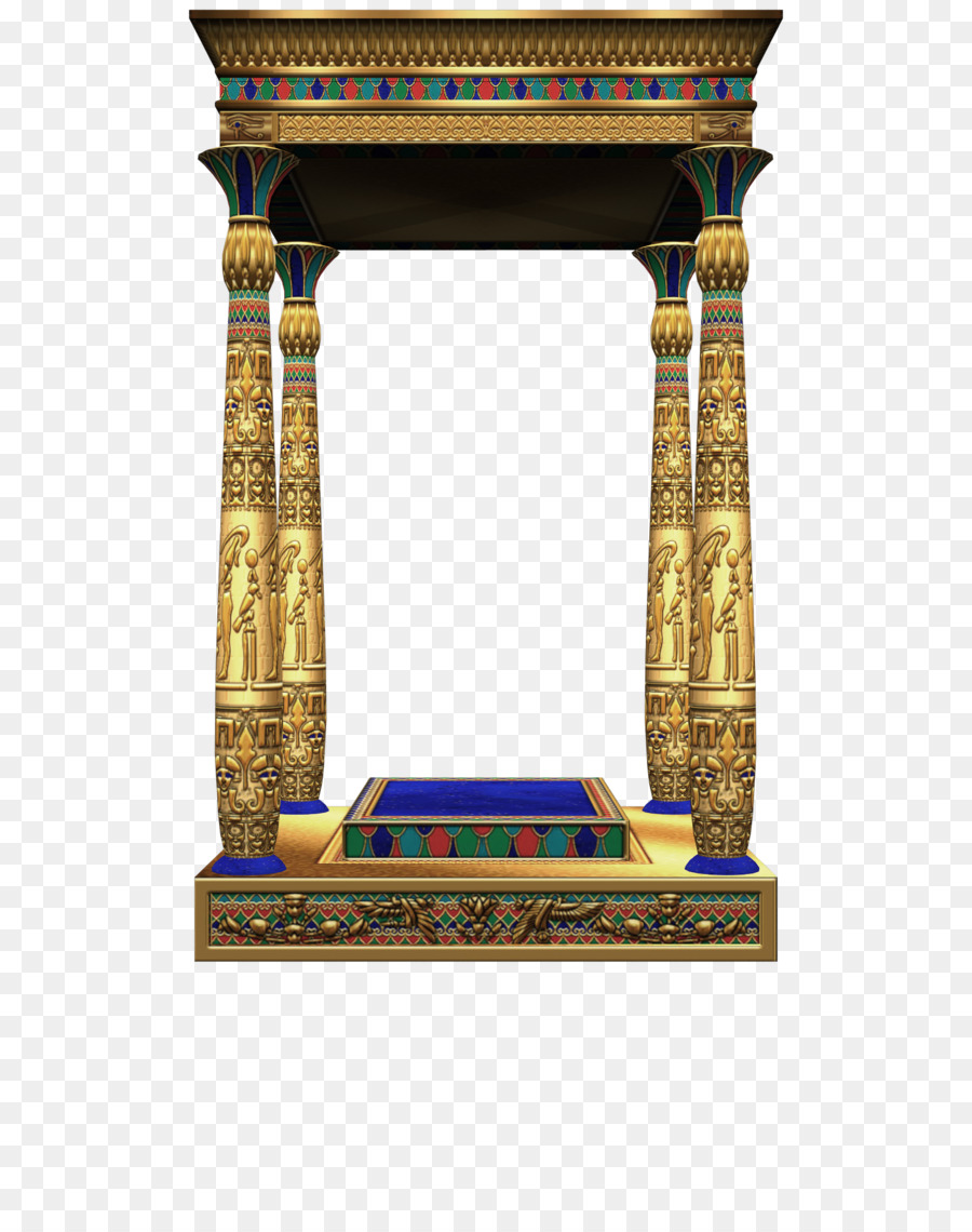 Free hd clipart egyptian painted column designs vector library library Table Cartoon png download - 1600*2000 - Free Transparent Egypt png ... vector library library