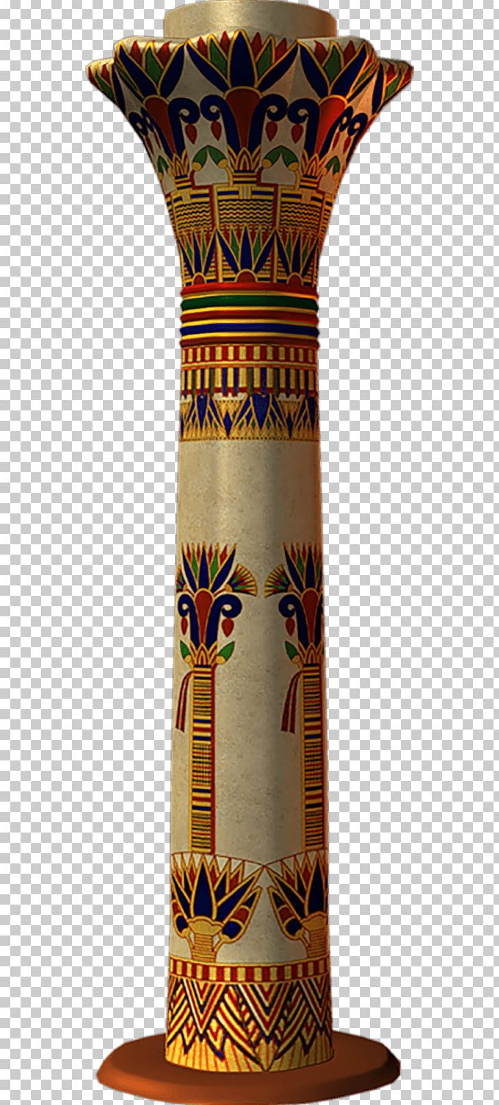 Free hd clipart egyptian painted column designs picture library library Ancient Egyptian Architecture Column Civilization PNG, Clipart ... picture library library