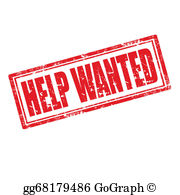 Free clipart help wanted clip transparent library Help Wanted Clip Art - Royalty Free - GoGraph clip transparent library