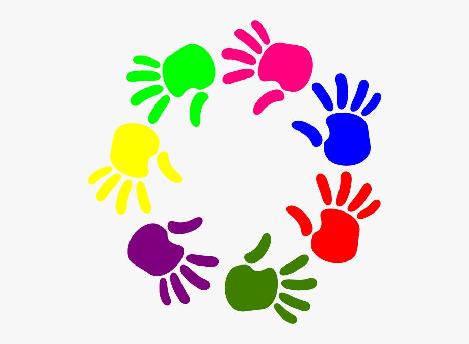Clipart helping hands clip transparent Helping Hand Clip Art - Hands In A Circle Clipart #1320965 - Free ... clip transparent