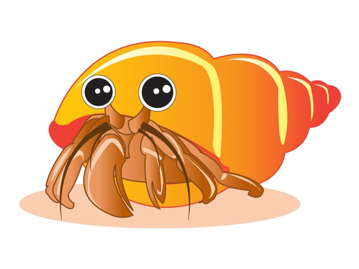 Free hermit crab clipart clip art library stock Cute hermit crab clipart 1 » Clipart Station clip art library stock