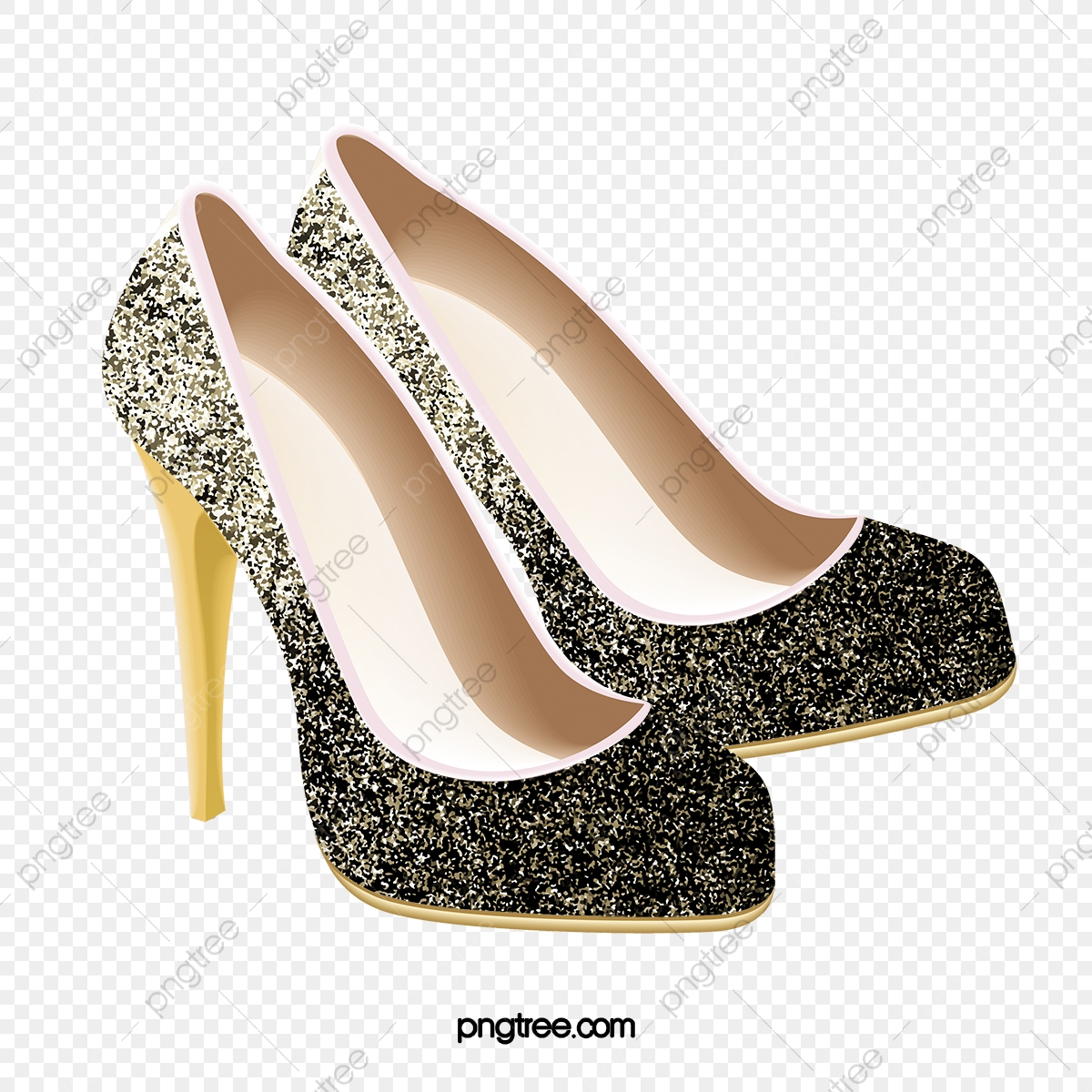 Free high heel shoe clipart. Gradient choo fine with