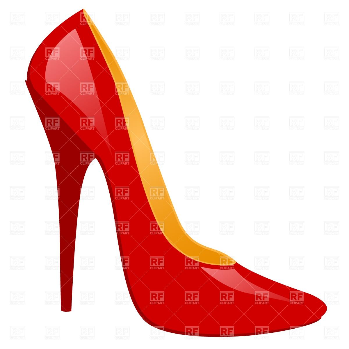 Free high heel shoe clipart vector free Free high heel shoe clipart 6 » Clipart Station vector free