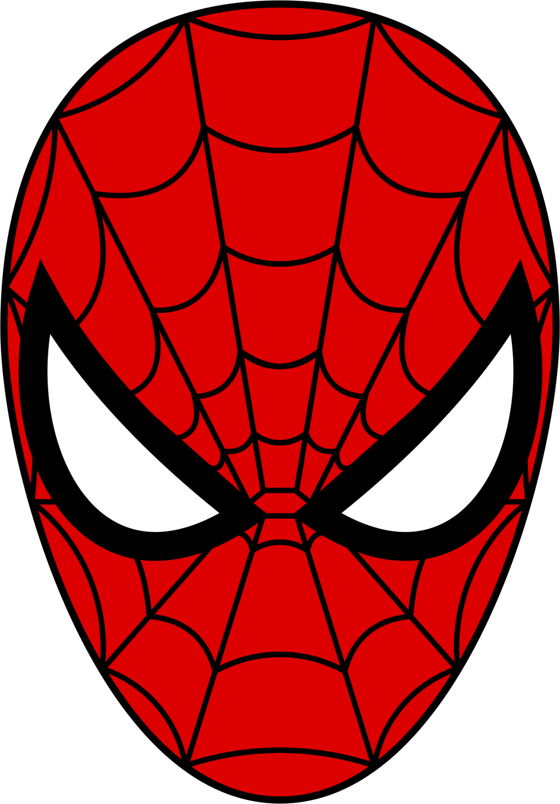 Free high resolution comic book clipart vector freeuse Spider-Man Mask PNG Image - PurePNG | Free transparent CC0 PNG Image ... vector freeuse