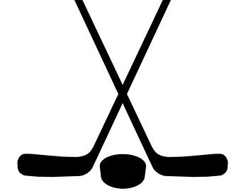 Free high resolution gray crossed hockey stick clipart picture library library Pin by Tracy MacDonell on Snuggle Up! | Hockey girls, Ice hockey ... picture library library