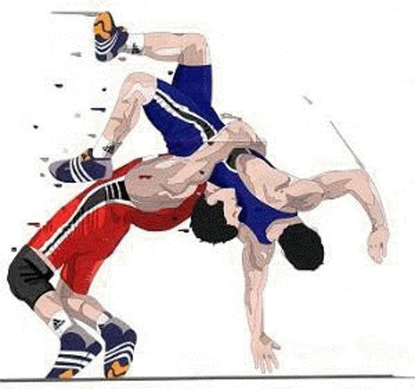 High school wrestling mat clipart vector freeuse stock High school wrestling clipart clipart kid - Clipartix vector freeuse stock