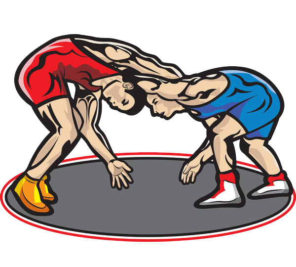 High school wrestling mat clipart black and white stock Professional wrestling Cartoon Clip art - A wrestler; a wrestler 600 ... black and white stock
