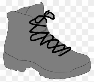 Png clip art download. Free hiking boots and walking stick clipart