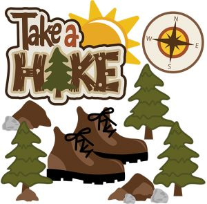 Free hiking clipart. Mountain clip art images