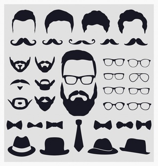 Beard clipart hipster hat png Hipster Vectors, Photos and PSD files | Free Download png