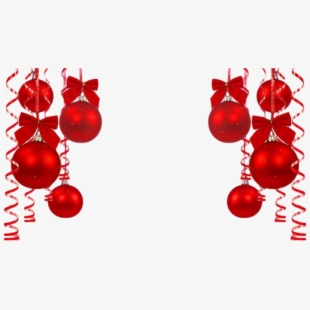 Free holiday clipart backgrounds png black and white download Bolas Vermelhas2 - Christmas Background Png Hd - Download Clipart on ... png black and white download