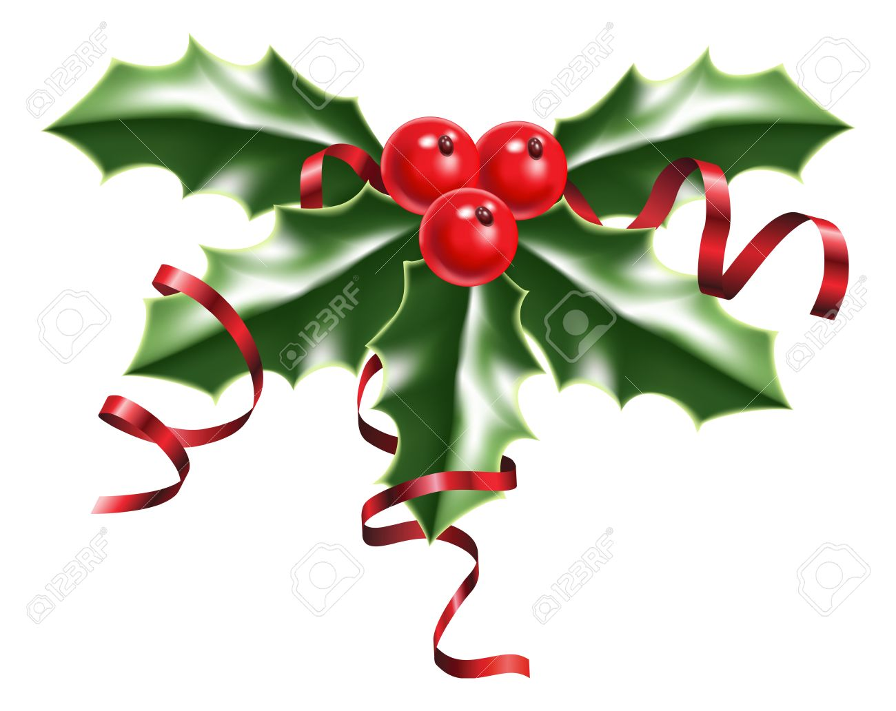 Free holly berry clipart image free Picture Of Holly Berries | Free download best Picture Of Holly ... image free