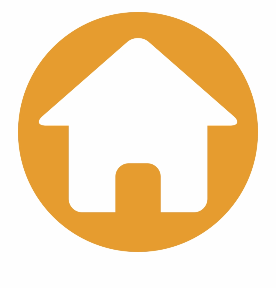 Free home icon clipart clip transparent library Icons House Computer Of Home Icon Clipart - Address Icon Png Orange ... clip transparent library