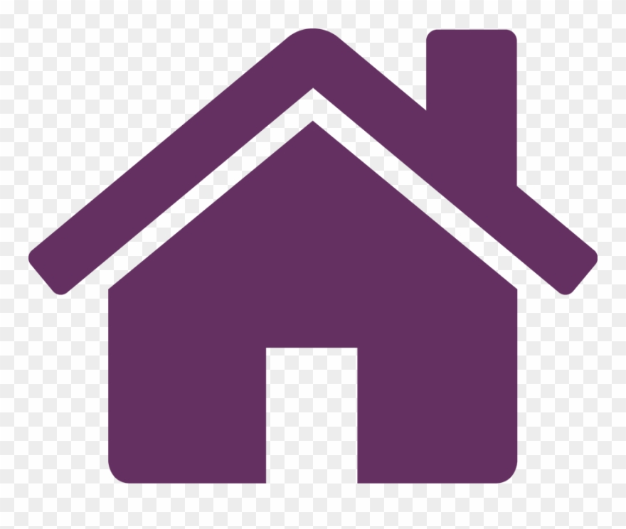 Free home icon clipart graphic library download Purple Home 5 Icon Free Icons - House With People Icon Clipart ... graphic library download