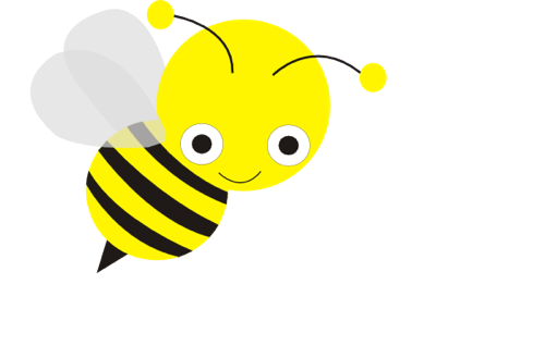 Cute headway cliparts . Free honey bee clipart images