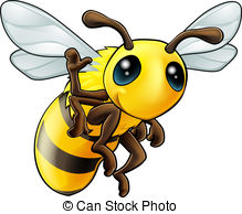 Free honey bee clipart images. Honeybee clip art and