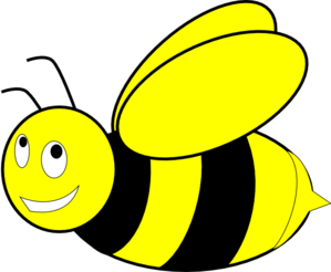 Free honey bee clipart images. Black and yellow clip